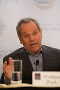 Wolfgang Puck, founder of Spago, is now the owner of fine dining and casual restaurants world wide.