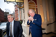 HENRY PORTER; GRAYDON CARTER; ; ;, Graydon and Anna Carter host a lunch for Carolina Herrera to celebrate the ipening of her new shop on Mount St. .The Connaught. London. 20 January 2010