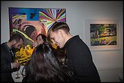 STUART SEMPLE, Stuart Semple: Anxiety Generation. Delahunty Fine Art. Bruton St. London. 12 November 2014