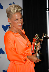 Pink, Michael Jackson Video Vanguard Award recipient, in the Press Room at the 2017 MTV Video Music Awards at The Forum on August 27, 2017 in Inglewood, California. (Photo by CraSH/imageSPACE)