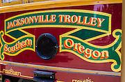 Jacksonville Trolley, Jacksonville, Oregon USA