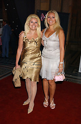 Left to right, RIKI BLOOM and her daughter BEVERLEY BLOOM at the opening party for Diamonds - a new exhibition at The Natural History Museum, London in association with De Beers held on 6th July 2005.<br /><br />NON EXCLUSIVE - WORLD RIGHTS