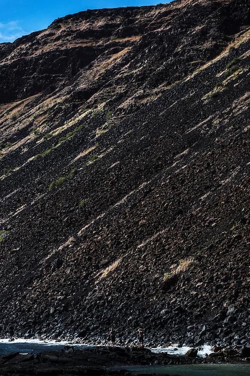 Halape, Hawaii Volcanoes National Park, Big Island, Hawaii.