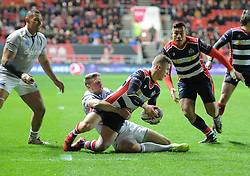 Billy Searle of Bristol Rugby - Mandatory by-line: Paul Knight/JMP - 13/01/2017 - RUGBY - Ashton Gate - Bristol, England - Bristol Rugby v Bath Rugby - European Challenge Cup