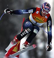 Ski  Alpint  World Cup Mens Downhill  ,  5 mars 2005  , Kvitfjell <br /> <br /> Bodi Miller , USA