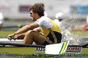 Munich, GERMANY, AUS M8+ 2006, FISA, Rowing, World Cup, on the Olympic Regatta Course, Munich,Sat.  27.05.2006. © Peter Spurrier/Intersport-images.com,  / Mobile +44 [0] 7973 819 551 / email images@intersport-images.com.[Mandatory Credit, Peter Spurier/ Intersport Images] Rowing Course, Olympic Regatta Rowing Course, Munich, GERMANY