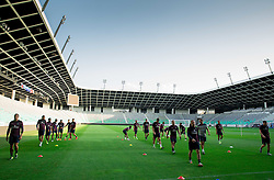 Players at warming up during practice session of England National Football Team 1 day before Euro 2016 Qualifications match against Slovenia, on June 13, 2015 in SRC Stozice, Ljubljana, Slovenia. Photo by Vid Ponikvar / Sportida