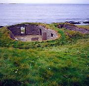 Knap of Howar, oldest standing house in western Europe, Papa Westray, Orkney Islands, Scotland