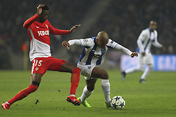 December 6, 2017 - Porto, Porto, Portugal - Porto's Algerian forward Yacine Brahimi (R) with Adama Diakhaby forward of AS Monaco FC (L) during the UEFA Champions League Group G match between FC Porto and AS Monaco FC at Dragao Stadium on December 6, 2017 in Porto, Portugal. (Credit Image: © Dpi/NurPhoto via ZUMA Press)