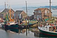 Massachusetts, Martha's Vineyard, Menemsha, harbor