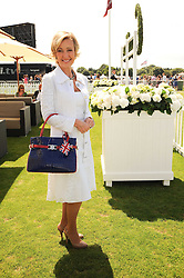 LANA MARKS at the Cartier International Polo at Guards Polo Club, Windsor Great Park, Berkshire on 25th July 2010.