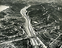 1940 Looking south above the Cahuenga Pass