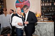 ABY ROSEN; JAY JOPLING, Aby Rosen & Samantha Boardman Dinner at Solea,Collins ave,  Miami Beach. 2 December 2010. -DO NOT ARCHIVE-© Copyright Photograph by Dafydd Jones. 248 Clapham Rd. London SW9 0PZ. Tel 0207 820 0771. www.dafjones.com.