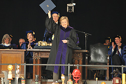 Former Secretary of State Hillary Rodham Clinton receives Honorary Doctorate of Law from Yale University   Commencement 2009. Credit Photography: James R Anderson