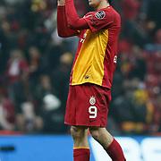 Galatasaray's Johan ELMANDER during their Turkish Superleague soccer match Galatasaray between Mersin Idman Yurdu at the Turk Telekom Arena at Aslantepe in Istanbul Turkey on Saturday 05 November 2011. Photo by TURKPIX