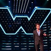NLD/Hiversum/20120123 - Presentatie van nieuwe zangspelprogramma The Winner is …, presentatoren Beau van Erven Dorens en Jeroen van der Boom