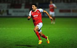 Liam Sercombe of Cheltenham Town- Mandatory by-line: Nizaam Jones/JMP - 28/11/2020 - FOOTBALL - Jonny-Rocks Stadium - Cheltenham, England - Cheltenham Town v Crewe Alexandra - Emirates FA Cup second round