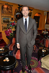 PATRICK GRANT at a Thanksgiving dinner hosted by Alexander Gilkes of Paddle8 at Annabel's, 44 Berkeley Square, London on 23rd November 2016.