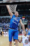 DESCRIZIONE : Pesaro Edison All Star Game 2012<br /> GIOCATORE : Marco Cusin<br /> CATEGORIA : schiacciata tiro<br /> SQUADRA : Italia Nazionale Maschile<br /> EVENTO : All Star Game 2012<br /> GARA : Italia All Star Team<br /> DATA : 11/03/2012 <br /> SPORT : Pallacanestro<br /> AUTORE : Agenzia Ciamillo-Castoria/C.De Massis<br /> Galleria : FIP Nazionali 2012<br /> Fotonotizia : Pesaro Edison All Star Game 2012<br /> Predefinita :