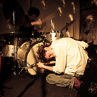 Turrentine Jones performing live at Gullivers, Manchester, 2012-02-25