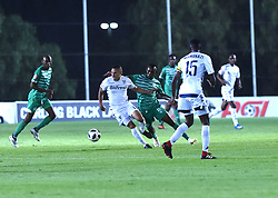 SOUTH AFRICA: GAUTENG: Bidvest Wits player Cole Alexander clash with Bloemfontein Celtic player Given Mashikinya during the Absa Premiership at Bidvest Stadium Gauteng.<br />857<br />10.11.2018<br />Picture: Itumeleng English/African News Agency (ANA)