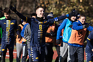 Rye plays Jericho in a New York State Public High School Athletic Association Class A boys' soccer semifinal game at  in Middletown, N.Y., on Nov.16, 2019.