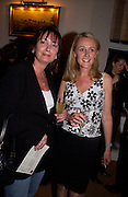 Francine Brandler and Sarah Millington-Norton, Opening of Bridge club, Mossop St. 27 April 2004. ONE TIME USE ONLY - DO NOT ARCHIVE  © Copyright Photograph by Dafydd Jones 66 Stockwell Park Rd. London SW9 0DA Tel 020 7733 0108 www.dafjones.com