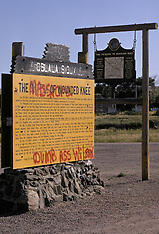Massacre at Wounded Knee South Dakota | Photographs taken July 11, 1973