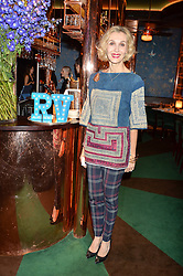 ALLEGRA HICKS at a dinner hosted by Roger Vivier to celebrate The Prismick Denim by Camillle Seydoux held at Casa Cruz, 123 Clarendon Road, London on 17th March 2016.