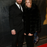 Simon Merrells, Alexandria Sands Arrivers at The Gold Movie Awards at Regent Street Cinema on 10 January 2019, London, UK.