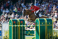 Candele Yann, (CAN), Showgirl<br /> BMO Nations Cup<br /> Spruce Meadows Masters - Calgary 2015<br /> © Hippo Foto - Dirk Caremans<br /> 12/09/15