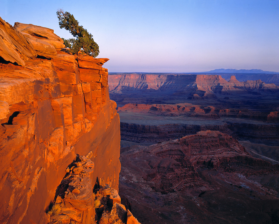 Dead Horse Point State Park in Utah, overlooks Canyonlands National Park.