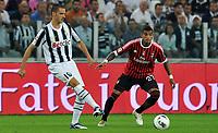 Fotball<br /> Italia<br /> Foto: Insidefoto/Digitalsport<br /> NORWAY ONLY<br /> <br /> Lorenza BONUCCI (Juventus), Kevin Prince BOATENG (Milan)<br /> <br /> 02.10.2011<br /> Juventus v Milan