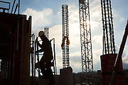 Reportage chantier Equinox, Ainterexpo, Bourg en Bresse, Ain.