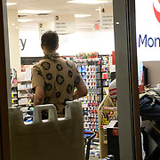 A group of people loot a CVS Pharmacy on the corner of Pennsylvania and 19th street. Protests in D.C. carry into the night, with more than 1,000 at Lafayette Park near the White House. Protesters are out nationwide after the killing of George Floyd by Minneapolis police. DC Metro police, secrete service police and Park police eventually pushed the protesters out of the park and into the streets of D.C.