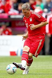 02.07.2011, Allianz Arena, Muenchen, GER, 1.FBL, FC Bayern Muenchen Saisoneroeffnung , im Bild  Bastian Schweinsteiger (Bayern #31) , EXPA Pictures © 2011, PhotoCredit: EXPA/ nph/  Straubmeier       ****** out of GER / CRO  / BEL ******