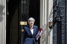 2019-07-17 Theresa May departs for PMQs