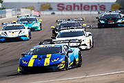 June 28 - July 1, 2018: Lamborghini Super Trofeo Watkins Glen. 09 Damon Ockey, US RaceTronics, Lamborghini Calgary, Lamborghini Huracan Super Trofeo EVO
