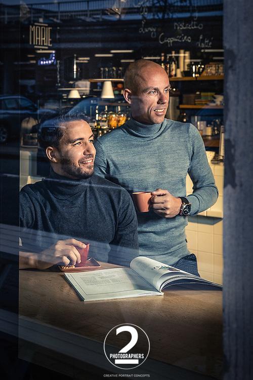 Ish Ait Hamou & Sven Nys © 2Photographers - Paul Gheyle & Jürgen de Witte