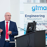 13.06.2018.            <br /> Up to 1,000 delegates visited Ireland's largest manufacturing supply chain conference and trade exhibition - Manufacturing Solutions Ireland 2018 - at Limerick Institute of Technology (LIT) in the course of today (Wednesday, June 13). <br /> <br /> Pictured at the event was John Drysdale, Business Development Manager Shannon Group.<br /> <br /> In its second year, the conference and engineering trade show, hosted by the UK tool technologies trade association - the GTMA in conjunction with LIT, exceeded last year's attendance thereby helping to generate in excess of a quarter of a million euro for the local economy. The Manufacturing Solutions event was supported by the Syndicat du Décolletage Congress also held in Limerick. Picture: Alan Place