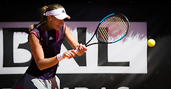 May 16, 2019 - Rome, ITALY - Kristina Mladenovic of France in action during her second-round match at the 2019 Internazionali BNL d'Italia WTA Premier 5 tennis tournament (Credit Image: © AFP7 via ZUMA Wire)