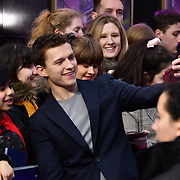 Tom Holland Arrivers at UK Premiere of Onward at Curzon Street, Mayfair, on 23th February 2020, London, UK.