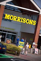 Morrisons supermarket, Gamston, Nottinghamshire, England, United Kingdom.