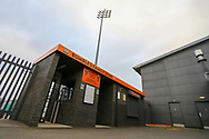 General stadium view outside Barnet Football Club, The Hive, London, England on 17 March 2020.