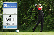 Jacob Glennemo (SWE) in action during the third round of the Hauts de France-Pas de Calais Golf Open, Aa Saint-Omer GC, Saint- Omer, France. 15/06/2019<br /> Picture: Golffile | Phil Inglis<br /> <br /> <br /> All photo usage must carry mandatory copyright credit (© Golffile | Phil Inglis)
