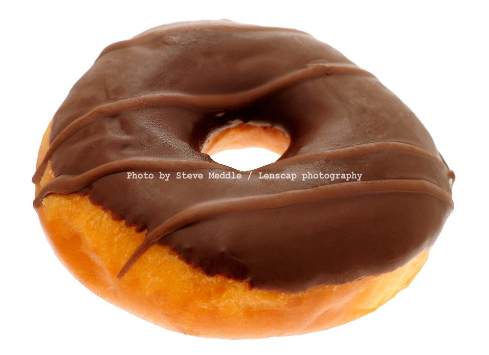 Chocolate Ring Doughnut