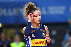MONICA DE GENNARO (ITALIA)<br /> ITALIA - REPUBBLICA DOMINICANA<br /> PALLAVOLO VNL VOLLEY FEMMINILE 2019<br /> CONEGLIANO (TV) 28-05-2019<br /> FOTO FILIPPO RUBIN