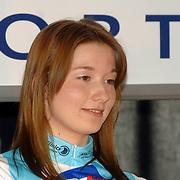 NLD/Oosterbeek/20060321 - Presentatie nieuwe dames wielerploeg Buitenpoort - Flexpoint Team, Suzanne van Veen