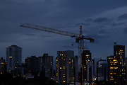 Belo Horizonte_MG, Brasil...Construcao de predio na regiao da Avenida Prudente de Morais, zona sul de Belo Horizonte, Minas Gerais...Building construction in Prudente de Morais avenue in the south of Belo Horizonte...Foto: MARCUS DESIMONI / NITRO