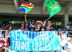 Cape Town-180207 Proteas  fans cheering for their teram  in a ODI game at Newlands against India .photograph:Phando Jikelo/African News Agency(ANA)